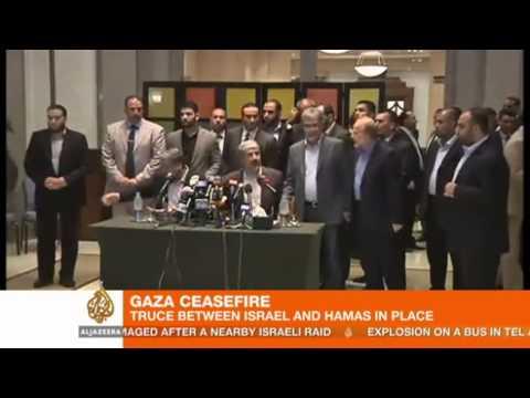 Gaza ceasefire comes into effect