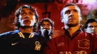 La multinacional norteamericana tiró de. Good Vs Evil Cantona Nike Advert Wmv Youtube