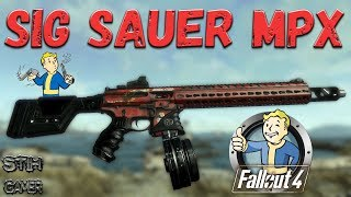 Fallout 4: SIG Sauer MPX