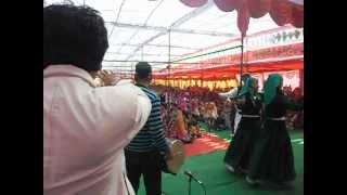 Pammi And Nati King Kuldeep Sharma In Live  At Darlaghat.AVI