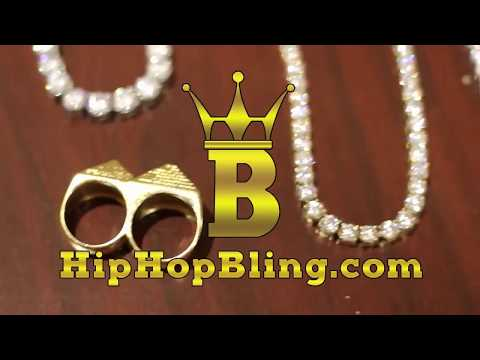 HipHopBling.com Hip Hop Jewelry | Tennis Chain | Cuban Necklace