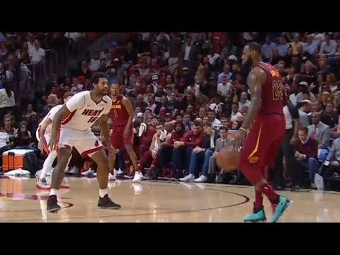 James Johnson Stellar Defense on LeBron James - Defensive Highlights | Cavaliers vs Heat