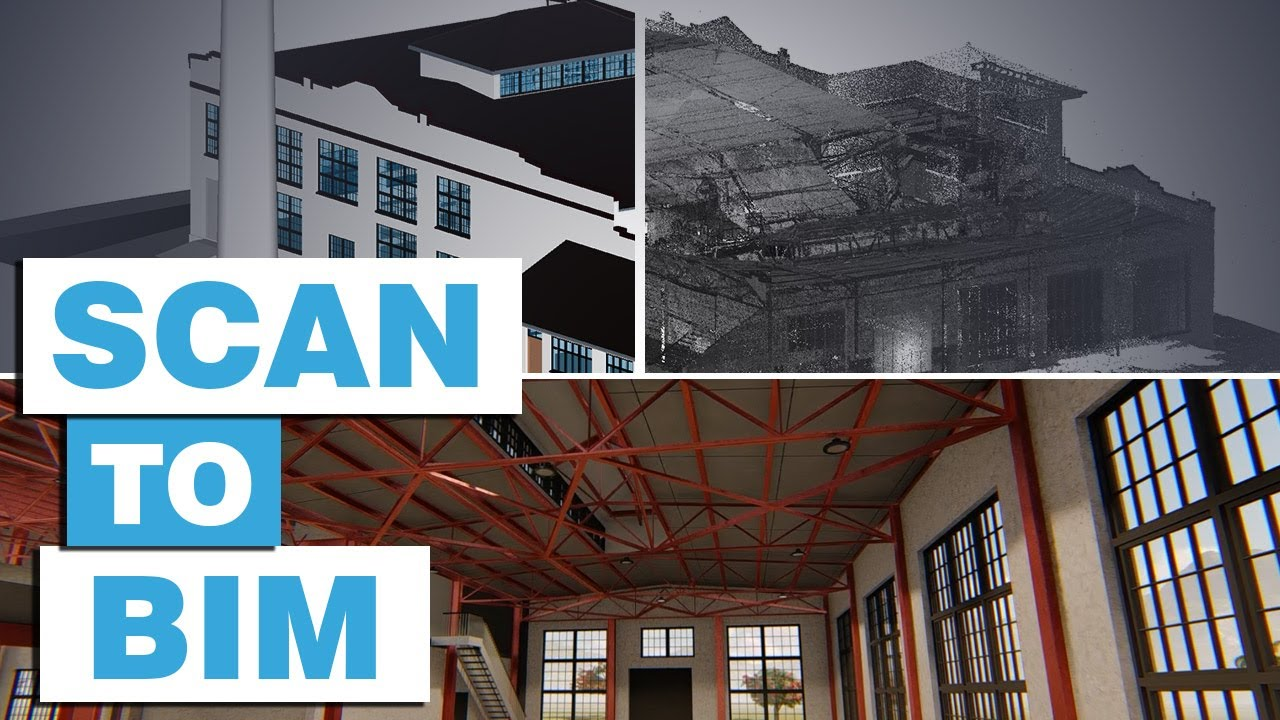 Scan to BIM Model | Renovation of a Historic Project with Revit