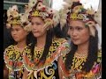 Kisah di Balik Cantiknya Gadis Dayak Kalimantan