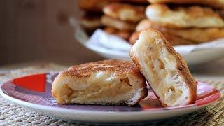 Пирожки с горохом жареные на сковороде