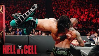 Ali drives Randy Orton over the announce table: WWE Hell in a Cell 2019 (WWE Network Exclusive)