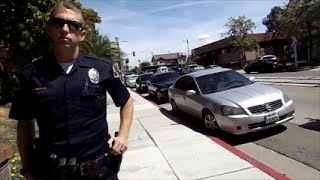 Anaheim Police Department First Amendment Audit Officer tries to ID me