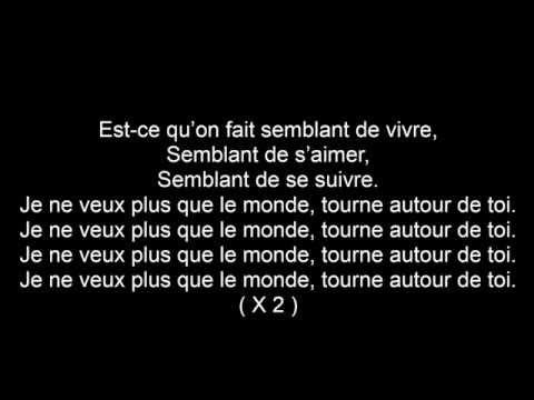 M.Pokora - Le Monde Lyrics ♥
