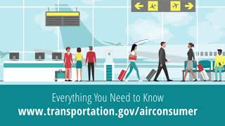 Using DOT's Aviation Consumer Protection website