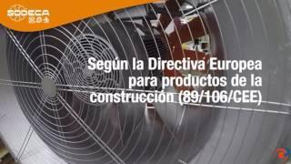 Ventiladores  HEAVY DUTY de Sodeca para aplicaciones industriales