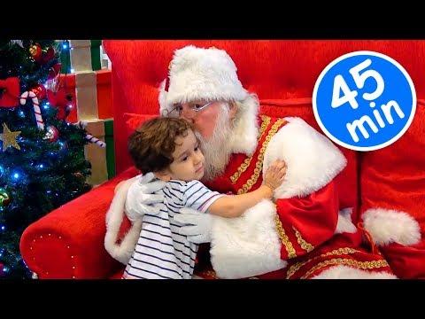 Especial de Natal c/ PAPAI NOEL e Crianças Paulinho e Toquinho - Santa Claus and Kids Playing 45 MIN