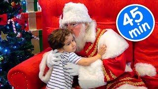 Especial de Natal com PAPAI NOEL e Crianças Paulinho e Toquinho  45 MIN de Vídeo para Crianças