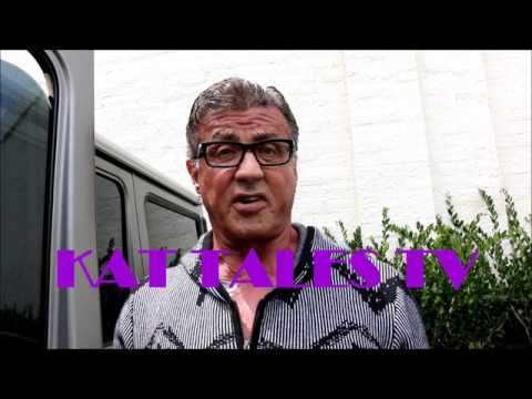 Sylvester Stallone Talks Conor McGregor vs Floyd Mayweather Jr