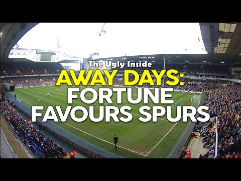 AWAYDAYS: Fortune Favours Spurs | Tottenham Hotspur 2-1 Southampton | The Ugly Inside
