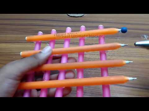 Awesome Waste Pen Craft Ideas l DIY Craft Projects l Key Holder
