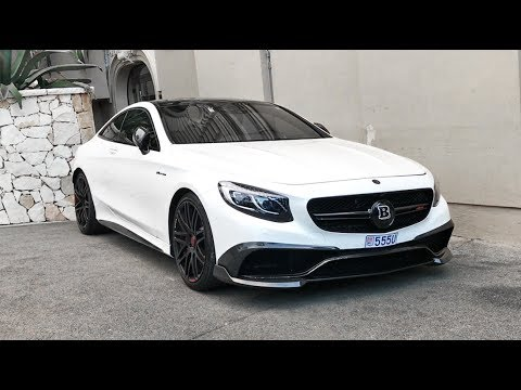 BRABUS S63 AMG Coupé - LOUD REVS and SOUNDS ! - YouTube