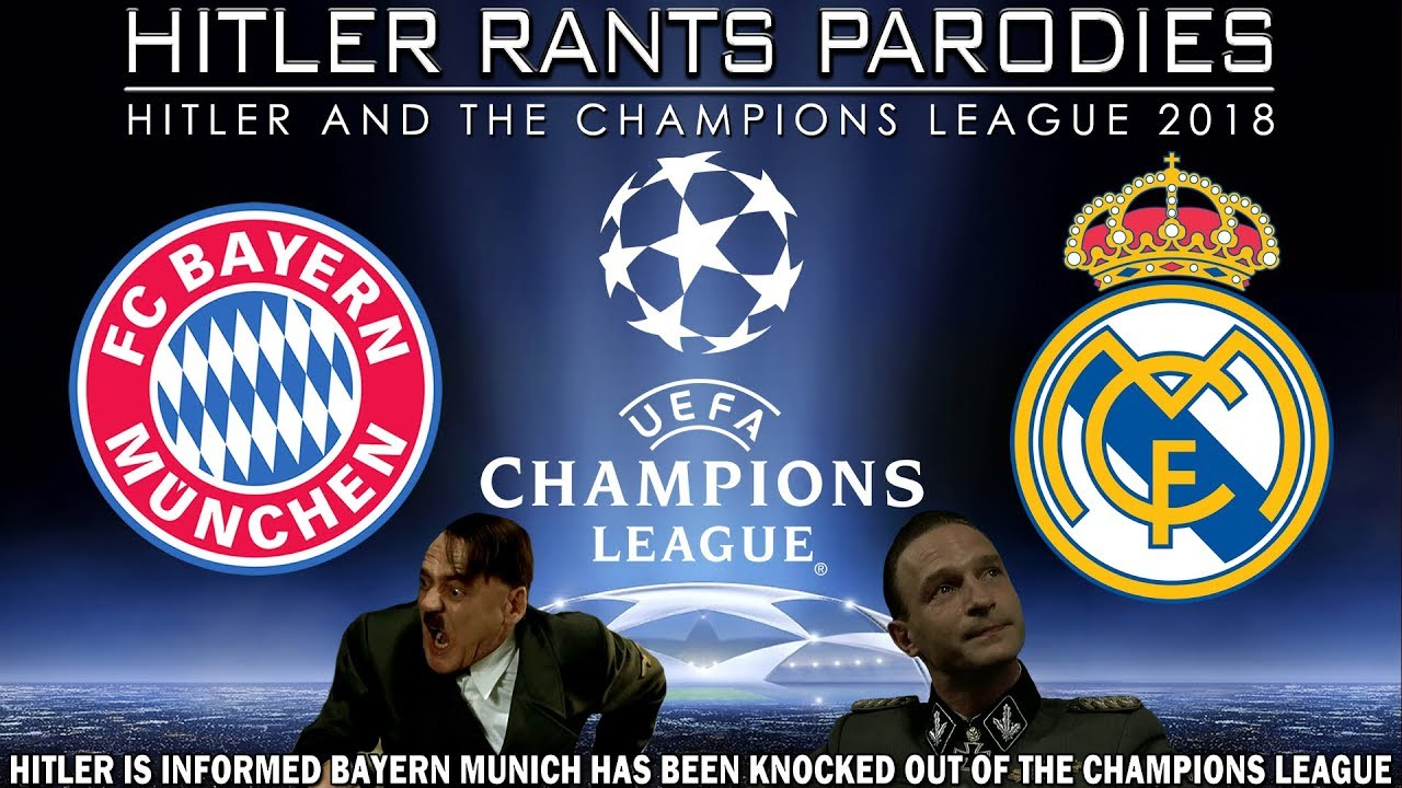 Hitler is informed Bayern Munich has been knocked out of the Champions League