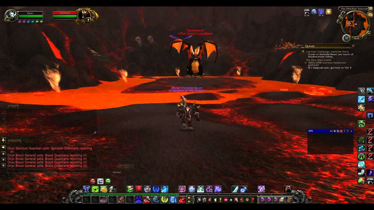 World of Warcraft mounts - Twilight Drake and Black Drake