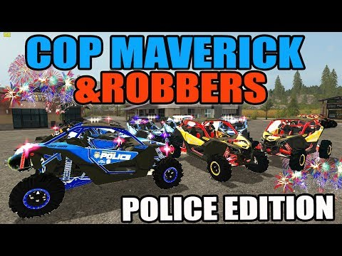 FARMING SIMULATOR 2017 | NEW POLICE CAN-AM EDITION | COPS AND ROBBERS MULTIPLAYER!
