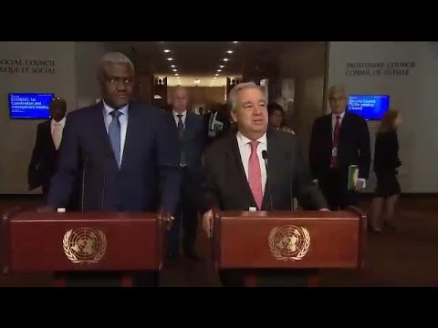 First African Union/United Nations Annual Conference  - Press Encounter