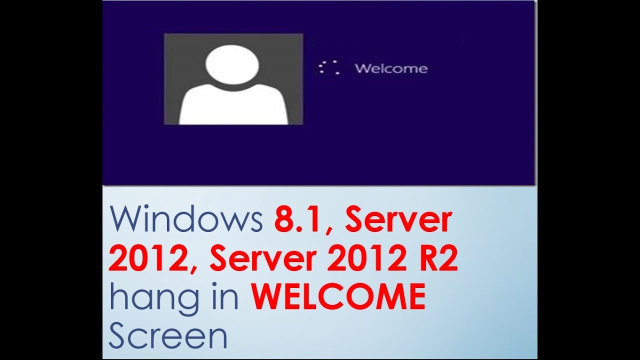 how to change welcome screen in windows 8.1