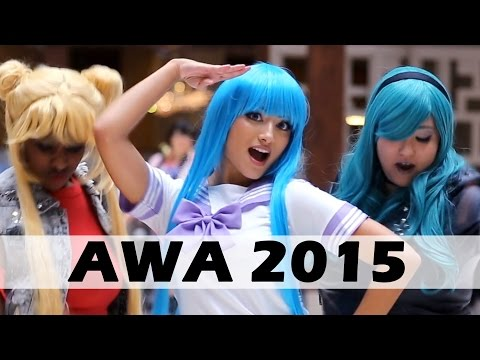 AWA 2015 COSPLAY MUSIC VIDEO - Uptown Funk - Bruno Mars With Lyrics
