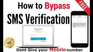 How To Bypass Sms Verification Or Otp 100 Working And Free In Hindi Youtube