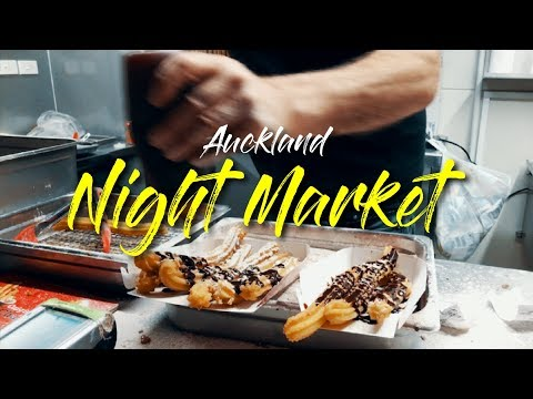 Things to Do in New Zealand - Auckland Night Markets [DJI Osmo Mobile, iPhone 7+]