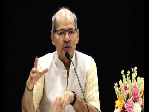 HMoEFCC Sh Anil Madhav Dave meets 2015 batch of Probationers of Indian Forest Service