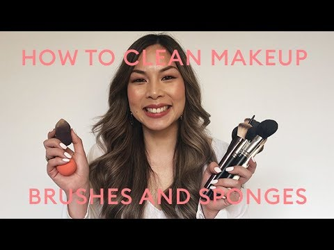 Beauty 101: How To Clean Makeup Brushes
