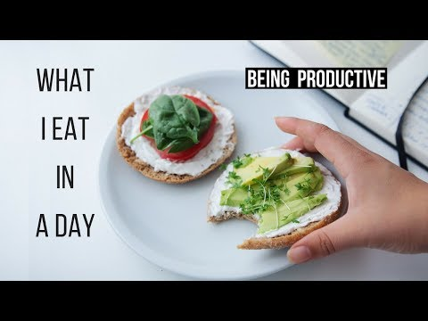 What I Eat In A Productive Day! {vegan & Healthy}