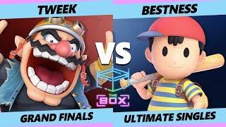 The Box Grand Finals - TSM | Tweek (Wario, Palutena) Vs. A | Bestness (Ness) Smash Ultimate - SSBU