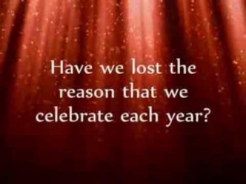 This Is Christmas   Kutless   Karaoke   Always Glorify GOD!