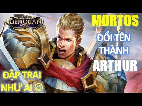 Mortos đổi tên thành Arthur - Sống lại với ngoại hình mới trai trẻ đẹp hơn Liên Quân Mobile