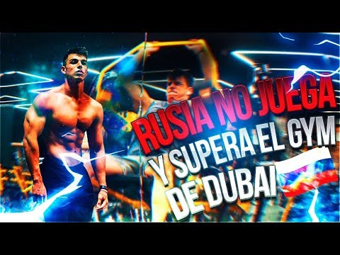 TOUR POR EL GYM CON +  INVERSIÓN 💵, INNOVADOR 🤯 Y GIGANTE DEL MUNDO 😱  RUSIA, MOSCOW #TFBWORLDTOUR