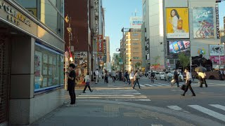 【4K】Walk in Tokyo Shinbashi, a town for office workers【Osmo Pocket】