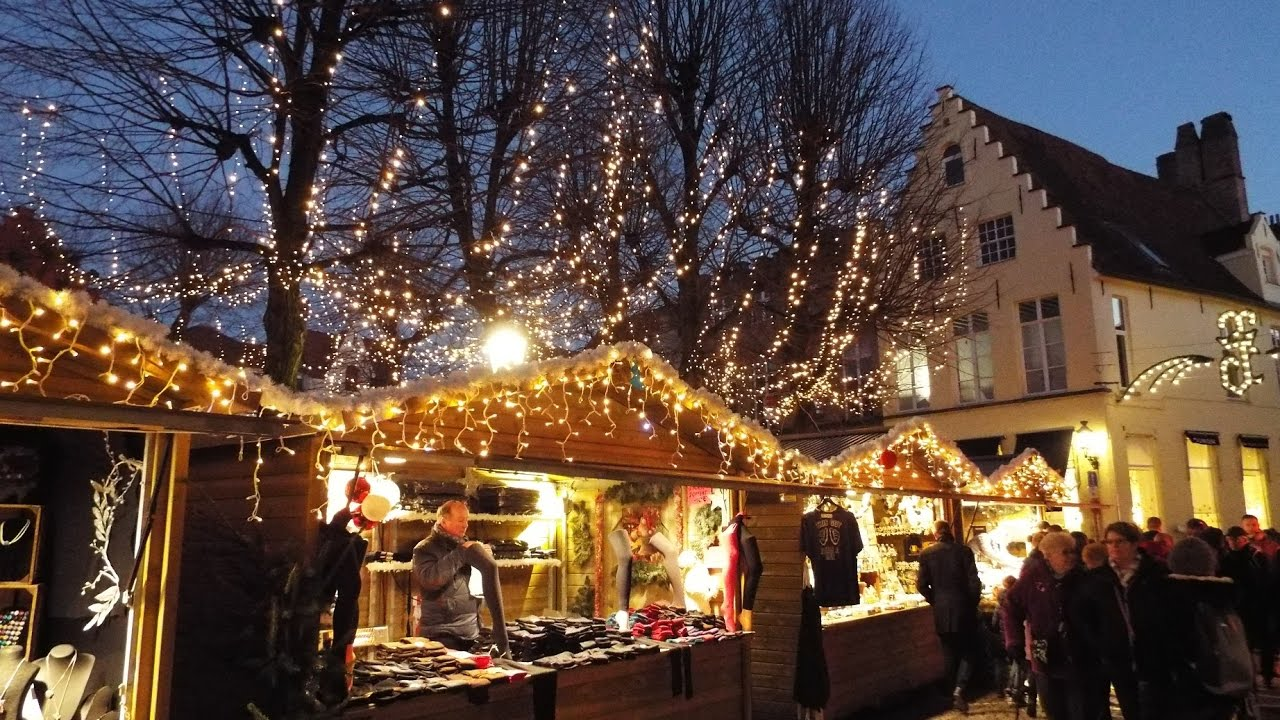Bruges Christmas.Bruges Christmas Market 2016