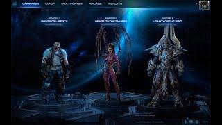StarCraft-2 2 на 2 С рандомом. Жопагеретильный режим активирован))))