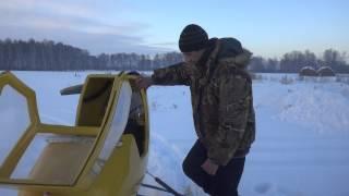 Комфортные Аэросани для охоты, рыбалки и отдыха