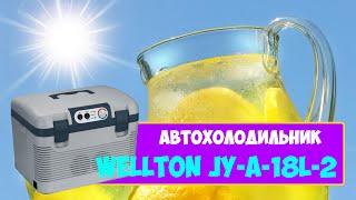 АВТОХОЛОДИЛЬНИК - ОБЗОР, ВМЕСТИМОСТЬ, РАЗМЕРЫ / WELLTON JY-A-18L-2