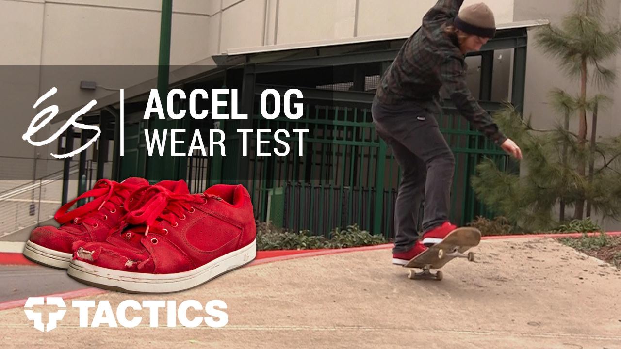 éS Accel OG Skate Shoes Wear Test
