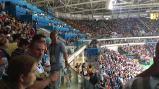 USA vs Argentina Insane Crowd Rio 2016 Olympics - HD