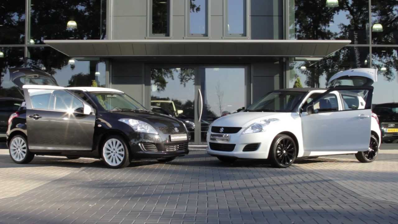 suzuki swift black and white edition youtube