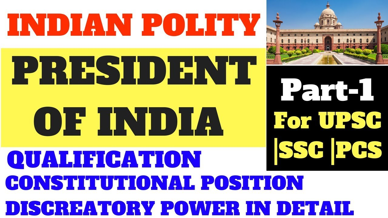 qualification required for president of india