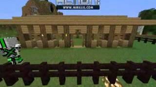 Minecraft - Jak wybudować stajnię #3
