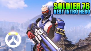 Overwatch Soldier 76 Guide - Amazingly Well Rounded Hero | Gameplay levelcapgaming