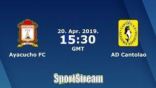 ⚽Ayacucho FC vs Academia Cantolao⚽ Liga 1 Apertura Peru Cup 2019 | 😱SIMULACIÓN🎮