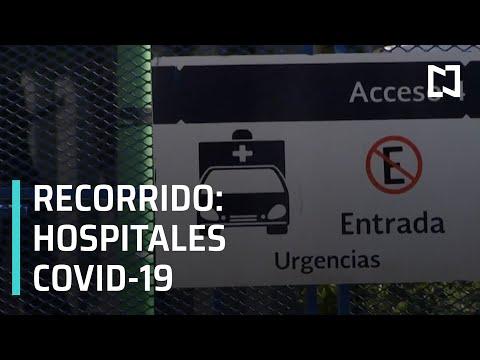Recorrido por hospitales COVID-19 en la CDMX - Despierta
