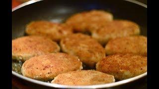 Шницели из свиного фарша | Schnitzel of pork minced meat