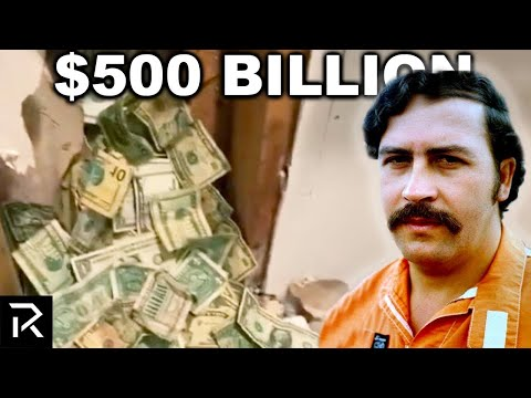 Pablo Escobar Hid $500 Billion And $18 Million Was Found